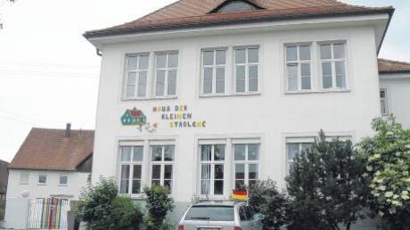 """Die Gemeinde Winterrieden eröffnet zum 1. September im Kindergarten """"Haus der kleinen Strolche"""" eine """"Interimskinderkrippe."""" Die Krippe kann ohne Umbaumaßnahmen im Haus eingerichtet werden."""