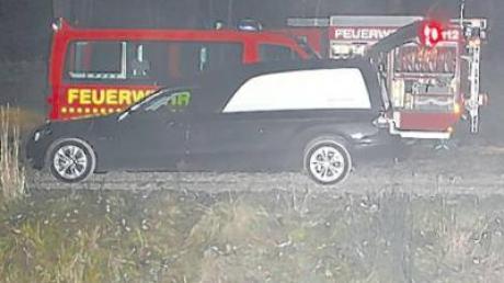 Gestern Abend wurde eine Leiche im Vöhringer Auwald geborgen.
