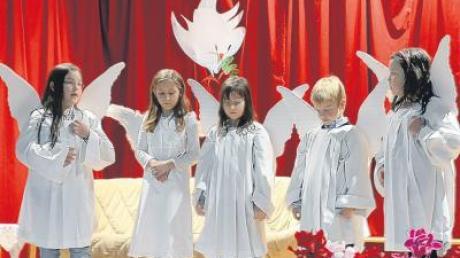 Die Himmelsstürmer erzählen die Weihnachtsgeschichte aus der Sicht der Engel.
