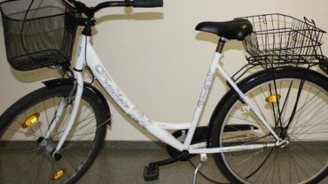 Auf diesem Fahrrad soll der Räuber geflohen sein.