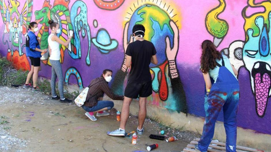 Ulm Graffiti Spruhen Und Mangas Zeichnen Nachrichten Illertissen