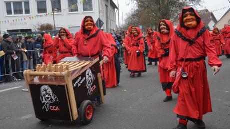 Der Carneval Club Au (CCA) dürfte auf seine Kosten gekommen sein, was den Spaßfaktor betrifft.