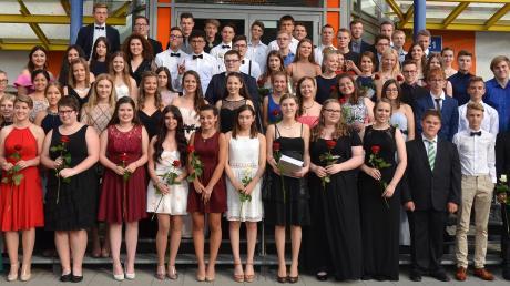 Sie haben an der Johannes-von-LaSalle-Realschule den Abschluss geschafft.