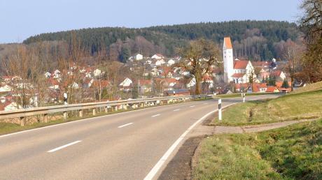 Viele Kirchhaslacher wünschen sich den Radweg nach Babenhausen.
