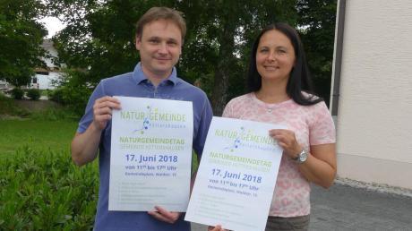 Markus Koneberg, auf diesem Archivfoto mit Noch-Bürgermeisterin Susanne Schewetzky zu sehen, möchte Rathaus-Chef werden.