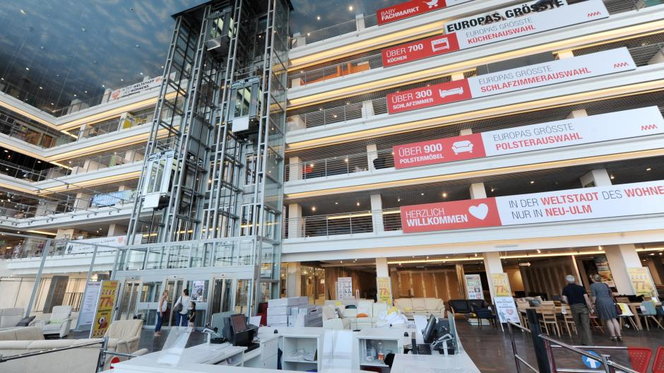 Neu Ulm Mobel Mahler Wird Zum Einkaufszentrum Nachrichten Neu Ulm