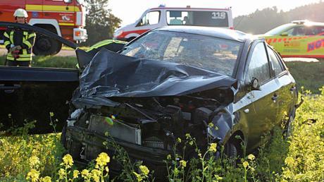 Ein schwerer Unfall ereignete sich bei Sinningen.