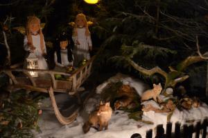 In Tiefenbach gibt es 24 Adventsfenster zum Ablaufen