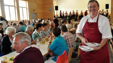Imerweiterten Vereinsheim in Oberroth gibt es reichlich Platz:Für die Gäste des Pfarrfestes, aber auch für viele Vereine und deren Mitglieder.
