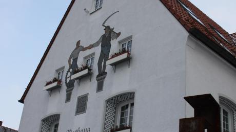 Im Vöhringer Rathaus wird über den Haushalt diskutiert.