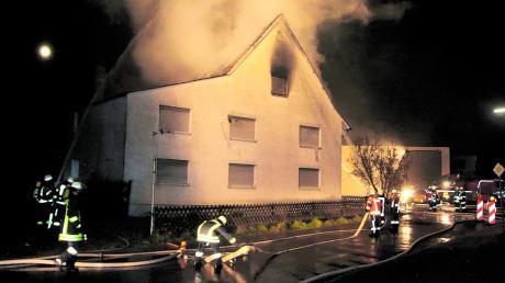 Brandeinsatz in Gannertshofen: Wenn es in einem Dorf ernst wird, ist die örtliche Feuerwehr zuerst zur Stelle. Doch nicht überall sind die Löschkräfte stets einsatzfähig – denn immer mehr Mitglieder sind tagsüber gar nicht vor Ort.