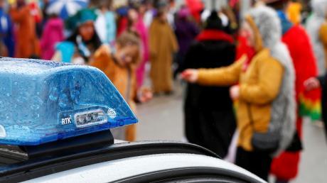 An Fasching hat die Polizei mitunter viel zu tun.