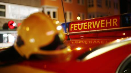Die Gannertshofer Feuerwehr musste einen Brand löschen.