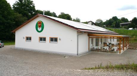 Das Schützenheim in Kellmünz.