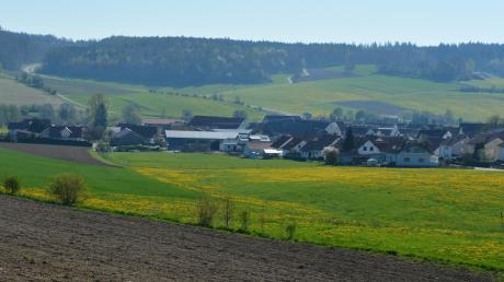 """Bei der Ausweisung des Baugebiets """"Nördlich des Nordwegs"""" in Dietershofen könnte es in der westlichen Häuserreihe emissionsrechtliche Probleme geben."""