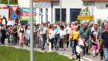 Zahlreiche Besucher kamen am Wochenende nach Obenhausen.