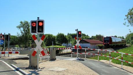 Bahnübergang am Steinweg: Teurer als geplant.