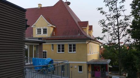 Im Obergeschoss des Kettershauser Kindergartens wird eine dritte Gruppe untergebracht.