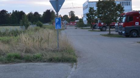Dieses Areal sorgt für Ärger: Die geplante Erweiterung der Firma Motz beunruhigt die Anwohner.