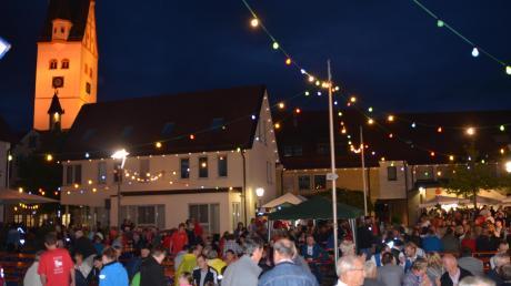 Die Altstadthockete in Dietenheim fand am Samstag statt.