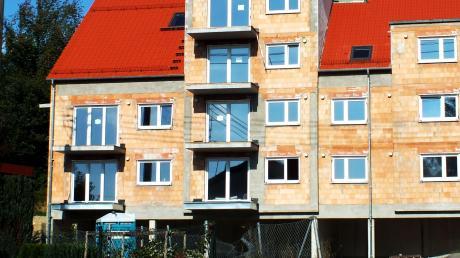 In der Schützstraße in Illerberg errichtete die Stadt ein Wohnhaus.