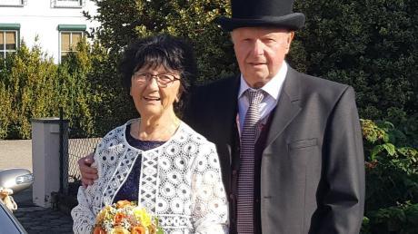 Else und Horst Duile feierten ihre Diamantene Hochzeit.