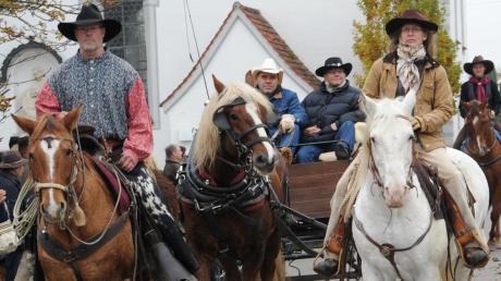 Am Sonntag werden Reiter und Kutscher durch Tiefenbach ziehen.
