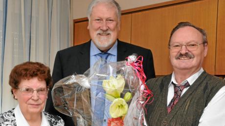 Klothilde und Walter Rudolf Mitlehner feiern Goldene Hochzeit.