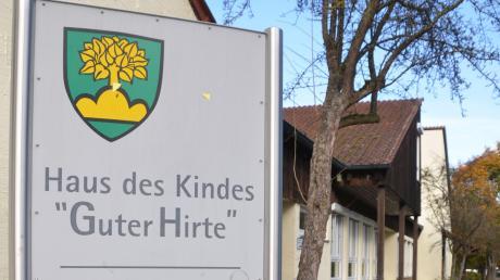 """Wegen eines begründeten Corona-Verdachtsfalls ist der Kindergarten """"Haus des Kindes - Guter Hirte"""" in Bellenberg seit Dienstag geschlossen."""