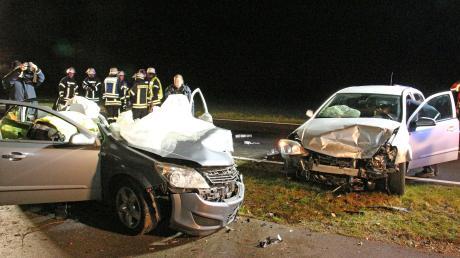 Zu einem schweren Unfall ist es am Mittwochmorgen auf der württembergischen Landesstraße 260 gekommen. Ein Mann wurde schwer verletzt.