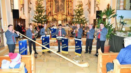 Mit einem facettenreichen Programm und Solostücken unterhielten die Rothtalmusikanten das Publikum in der Stephanus-Kirche.