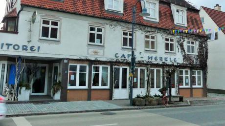 Das Café Merkle in Altenstadt sorgte für Gesprächsstoff.