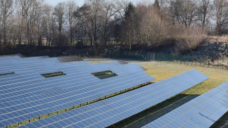 """""""Grüner Strom von Bürgern für Bürger"""" lautet der Slogan des geplanten Solarpark-Projekts der Babenhauser Firma Vensol."""