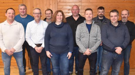 Die Gemeinderatskandidaten der Freien Wähler Osterberg für die im März stattfindende Kommunalwahl.