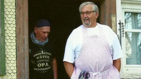 Als Hobbykoch liebt es Josef Stecher, seine Freunde zu bewirten.