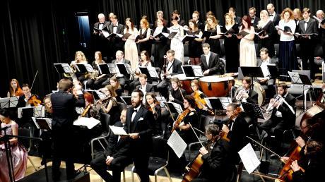 """Das Konzert der Donau Philharmonie Wien unter Leitung von Manfred Mussauer stand unter dem Motto """"Der Traum vom Frieden."""""""