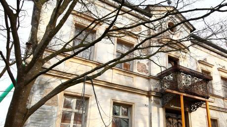 Die Molfenter-Villa an der Illerberger Straße ist ein Stück Industriegeschichte von Weißenhorn.