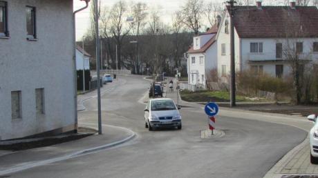 Der erste Teil der Rechbergstraße ist saniert, nun ist der zweite dran.