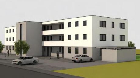So soll der fertige Neubau von Bauherr Julian Neuhäusler aussehen, wenn er voraussichtlich im September 2021 bezugsbereit ist.