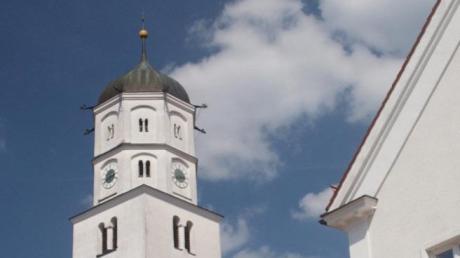Blick auf die Martinskirche in Illertissen, welche unter den Vöhlin neu erbaut wurde.