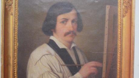 Der Maler Johann Nepomuk Fahrenschon wurde 1820, also vor 200 Jahren, in Babenhausen geboren.