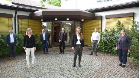 Neu im Altenstadter Ratsgremium: (von links) Konstantin Zanker, Juliane Euchner, Wolfgang Stöhr, Maximilian Wiest, Bernadette Cray, Stefan Briglmeir und Martina Brugger.
