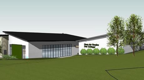 Die Arbeiten sollen so bald wie möglich beginnen: In der Gemeinde Oberschönegg soll ein Haus der Vereine mit Mehrzweckhalle entstehen.