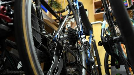 Über den Kauf eines gebrauchten Fahrrads ist in einem Geschäft in  Bellenberg ein Streit entbrannt.