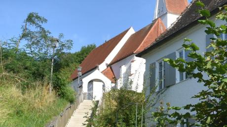 Eine Seitengasse des Schlosswegs in Osterberg.