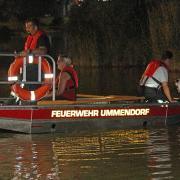 Bei der Suchaktion im Sinninger Badesee in der Nacht zum Samstag waren auch Einsatzkräfte der Feuerwehr Ummendorf im Einsatz – 25 Kilometer von Kirchberg entfernt.