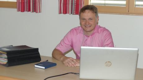 Markus Koneberg ist seit Mai hauptamtlicher Erster Bürgermeister der Gemeinde Kettershausen.