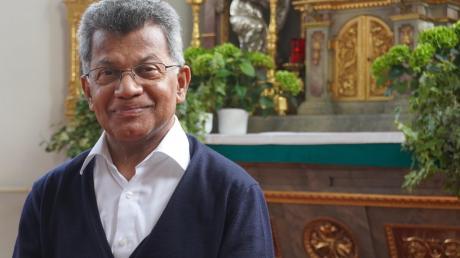 Pater Thomas Thakadiyel verlässt nach 16 Jahren die Pfarreien Obenhausen und Gannertshofen.
