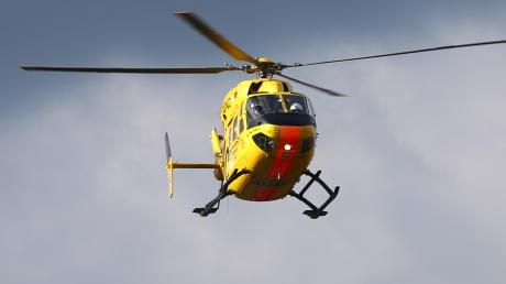 Zwei Verletzte mussten mit dem Heli transportiert werden.