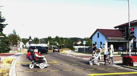 Für Fußgänger ist die Rue de Vizille in Vöhringen ein schwieriges Pflaster. Doch eine Ampel wird es nicht geben.